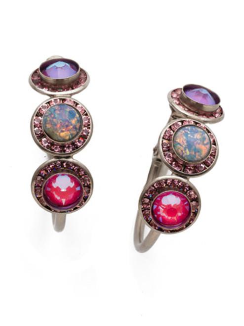 Sorrelli Electric Pink - Saylor Hoop Earrings~ EET14ASETP