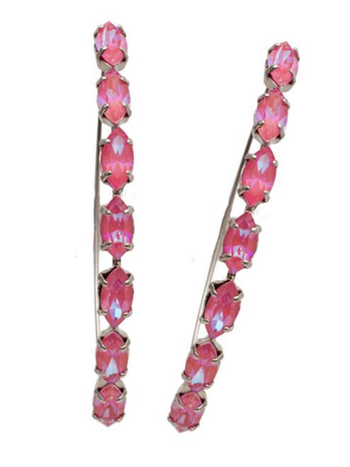 Sorrelli Electric Pink - Vera Hoop Earrings~ EEP6ASETP