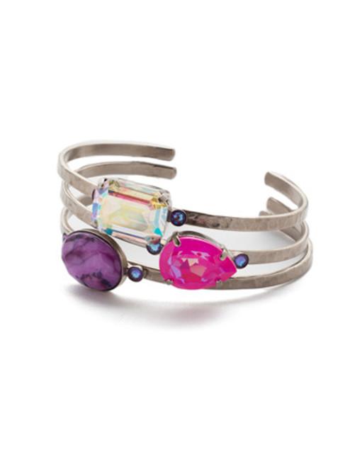 Sorrelli Electric Pink - Leslie Cuff Bracelet~ BEP18ASETP