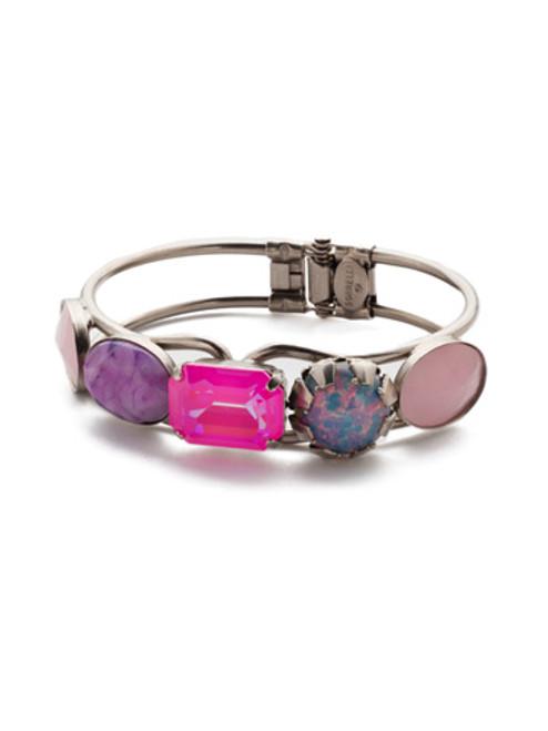 Sorrelli Electric Pink - Bianca Cuff Bracelet~ BET57ASETP
