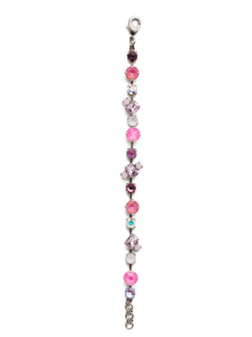 Sorrelli Electric Pink - Melrose Tennis Bracelet~ BET16ASETP