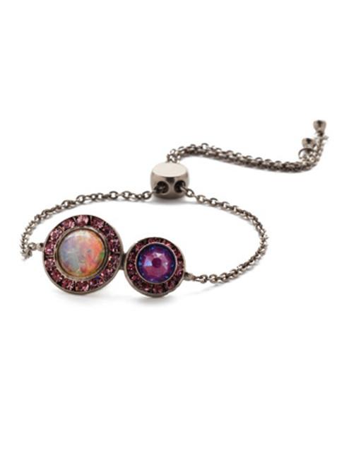 Sorrelli Electric Pink - Hartford Slider Bracelet~ BET13ASETP