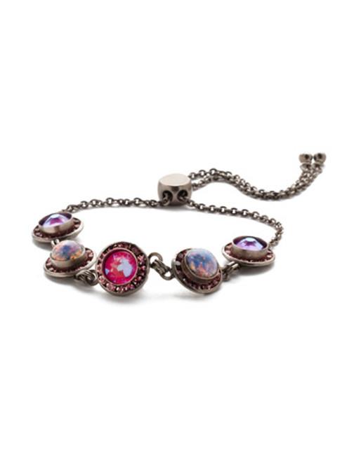 Sorrelli Electric Pink - Saylor Slider Bracelet~ BET14ASETP