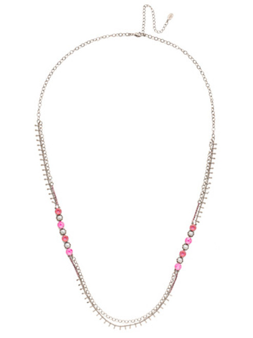 Sorrelli Electric Pink - Oaklyn Long Necklace~ NEP1ASETP