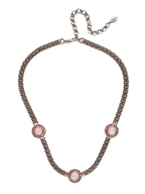 Sorrelli Electric Pink - Alberta Tennis Necklace~ NET12ASETP