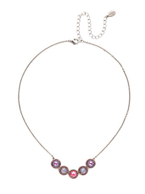 Sorrelli Electric Pink - Saylor Pendant Necklace~ NET14ASETP