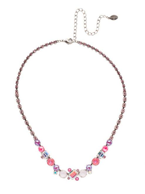 Sorrelli Electric Pink - Tinsley Statement Necklace~ NEN17ASETP