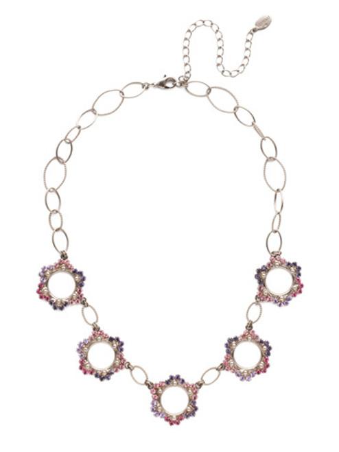 Sorrelli Electric Pink - Leva Statement Necklace~ NET8ASETP