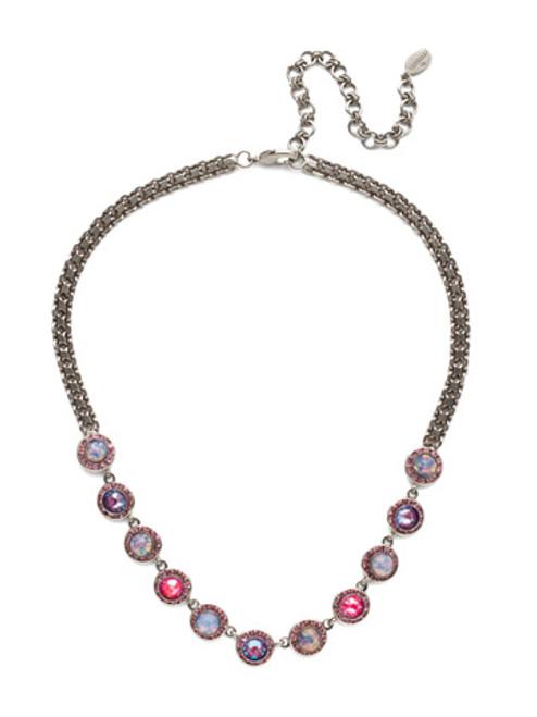 Sorrelli Electric Pink - Kaia Statement Necklace~ NET10ASETP