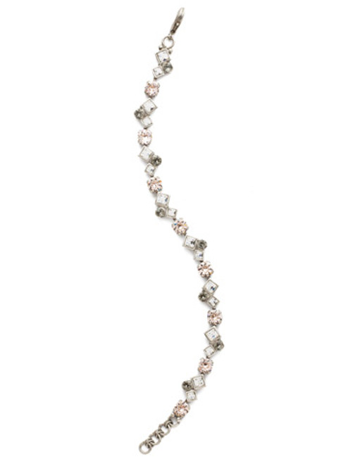 Sorrelli Snow Bunny- Elegant Moves Tennis Bracelet ~ BCM15ASSNB