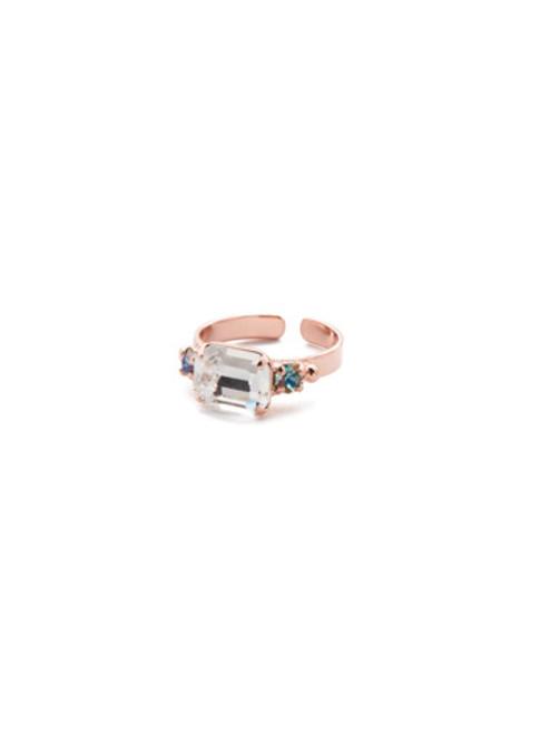 Sorrelli Crystal Azure -Carson Band Ring~ RET57RGCAZ