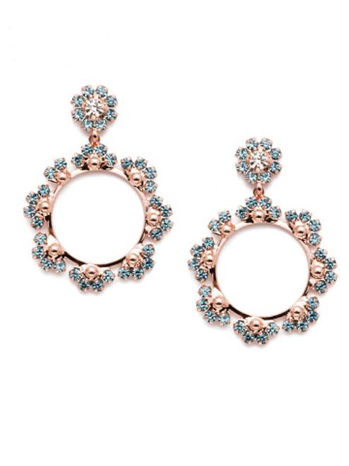Sorrelli Crystal Azure -Bryn Statement Earrings~ EEP82RGCAZ