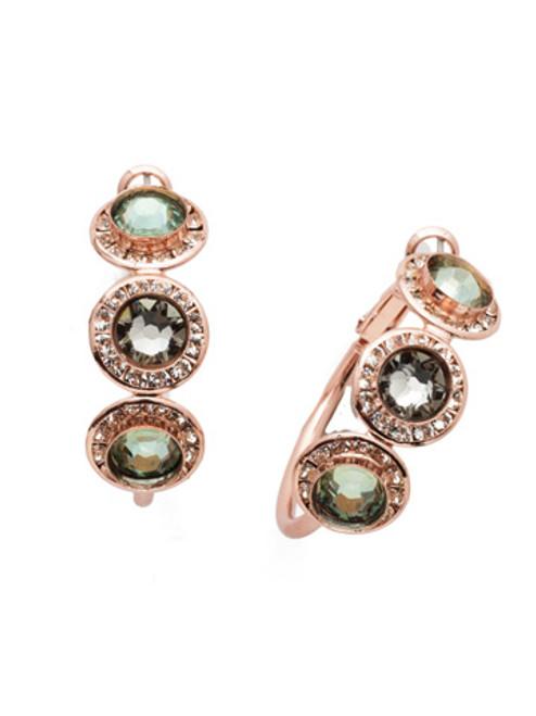 Sorrelli Crystal Azure - Saylor Hoop Earrings~ EET14RGCAZ