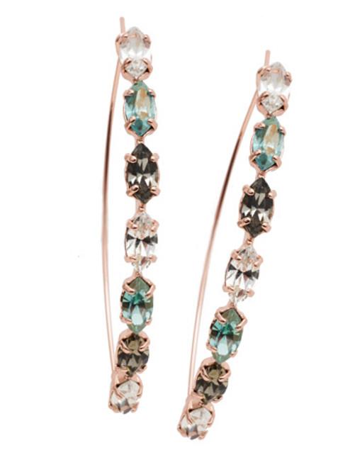 Sorrelli Crystal Azure - Vera Hoop Earrings~ EEP6RGCAZ