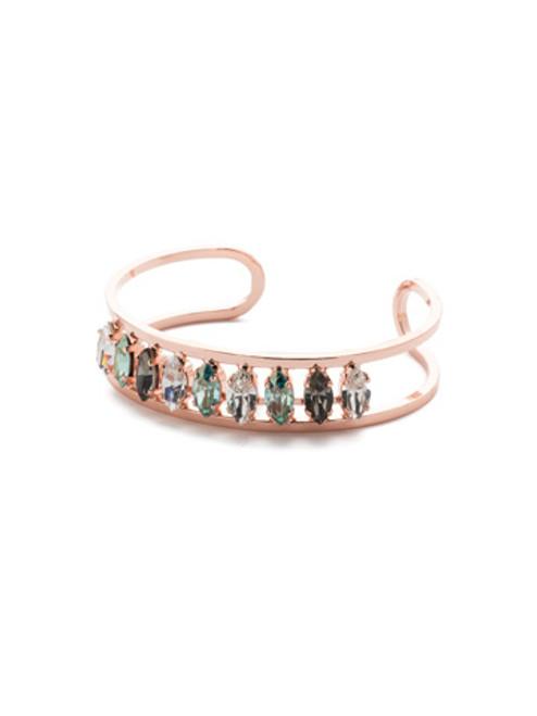 Sorrelli Crystal Azure - Dolores Cuff Bracelet~ BEP4RGCAZ