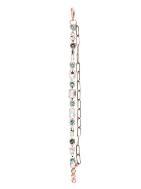 Sorrelli Crystal Azure - Mayzel Tennis Bracelet~ BET1MXCAZ