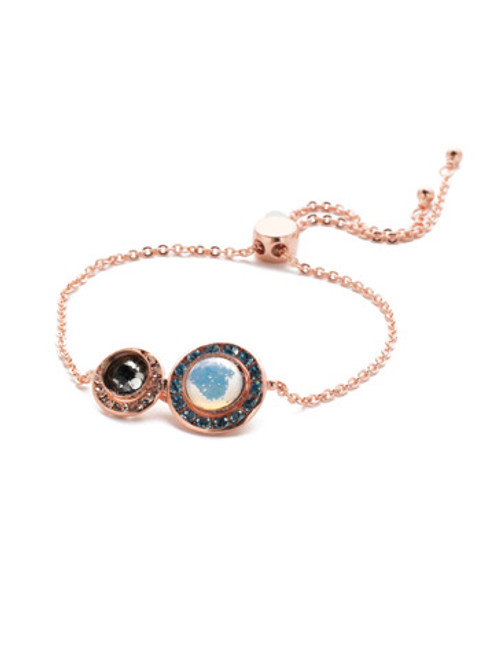 Sorrelli Crystal Azure - Hartford Slider Bracelet~ BET13RGCAZ