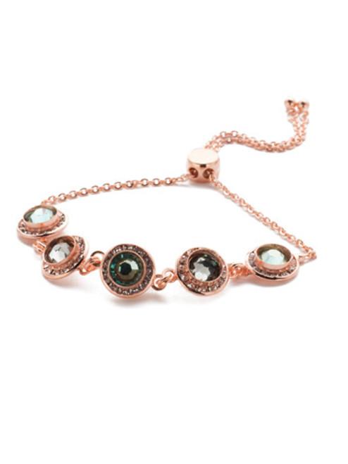 Sorrelli Crystal Azure - Saylor Slider Bracelet~ BET14RGCAZ