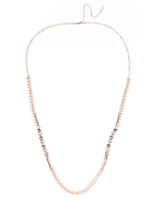 Sorrelli Crystal Azure - Oaklyn Long Necklace~ NEP1RGCAZ