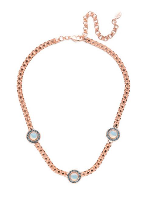 Sorrelli Crystal Azure - Alberta Tennis Necklace~ NET12RGCAZ