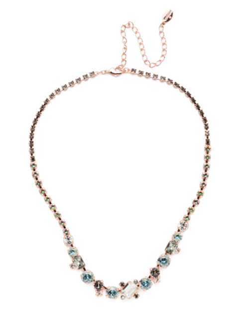 Sorrelli Crystal Azure - Tinsley Statement Necklace~ NEN17RGCAZ