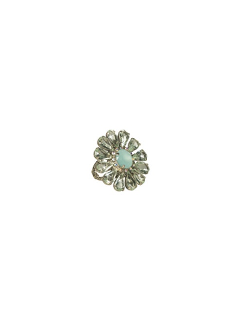 Sorrelli CUPCAKE- Botanical Bliss Ring~ RCP29ASCUP