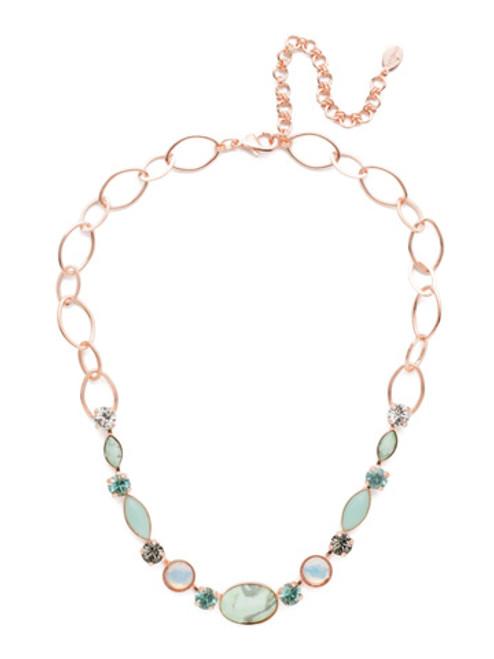 Sorrelli Crystal Azure - Astro Tennis Necklace~ NET4RGCAZ
