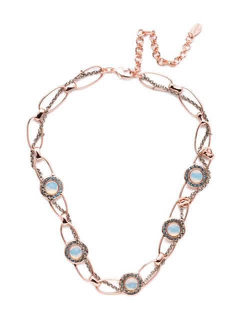 Sorrelli Crystal Azure - Cheyenne Tennis Necklace~ NET11MXCAZ