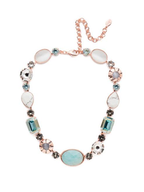 Sorrelli Crystal Azure - Tatiana Statement Necklace~ NEP57RGCAZ
