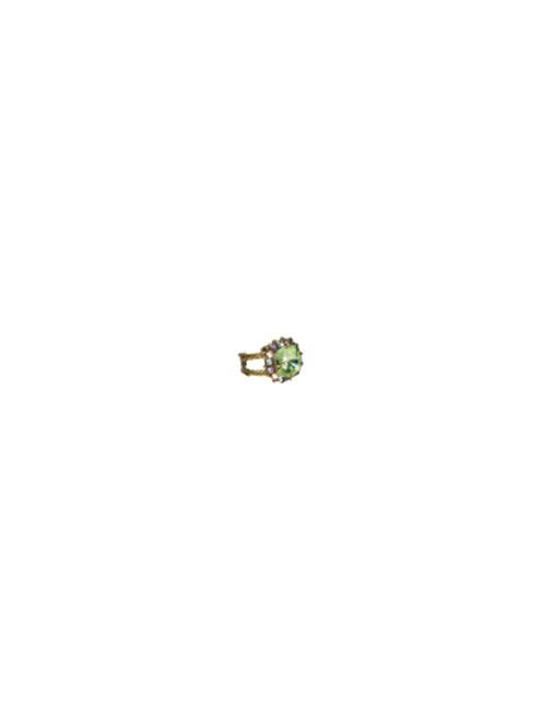 Sorrelli Sweet Dreams- Crystal Cushion Ring~ RCG2AGSWD