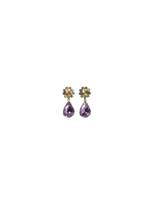 Sorrelli Sweet Dreams- Swarovski Crystal Chandelier Earrings~ EBP61AGSWD