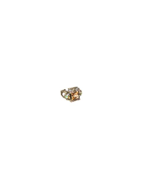 Sorrelli Dixie- Fair and Square Crystal Ring~ RCQ44ASDX