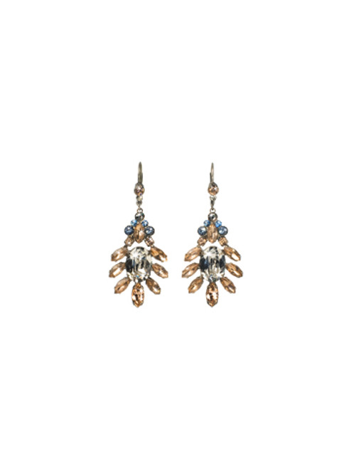 Sorrelli Dixie- Ornate Oval Earrings~ ECQ17ASDX