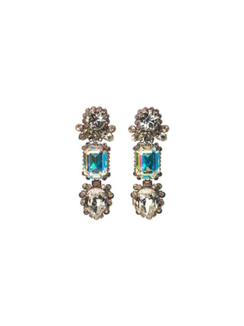 Sorrelli Dixie- Crystal Clip On Earrings~ ECQ26CASDX