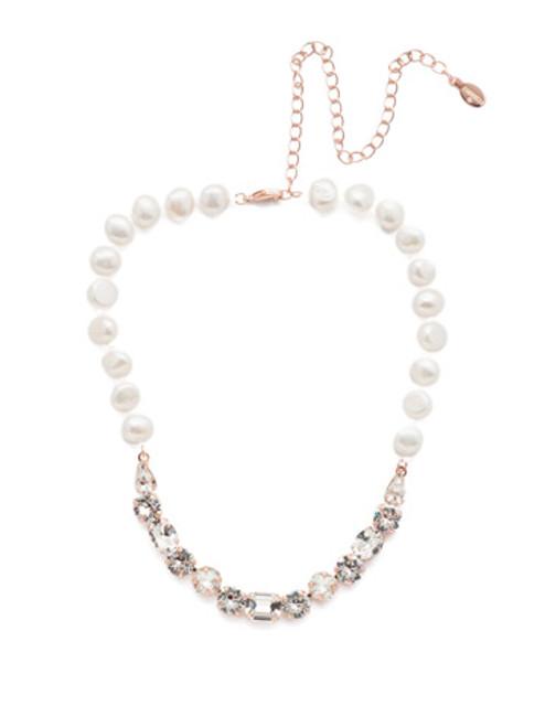 Sorrelli Crystal- Cadenza Tennis Necklace ~ NER2RGCRY