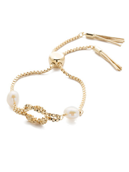 Sorrelli Modern Pearl- Pippa Slider Bracelet~ 4BEF14BGMDP