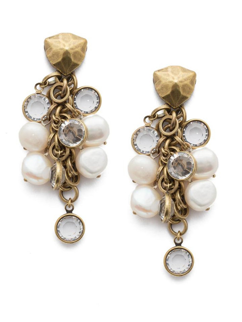 Sorrelli Crystal- Oceane Stud Earrings ~ 4EEF3AGCRY