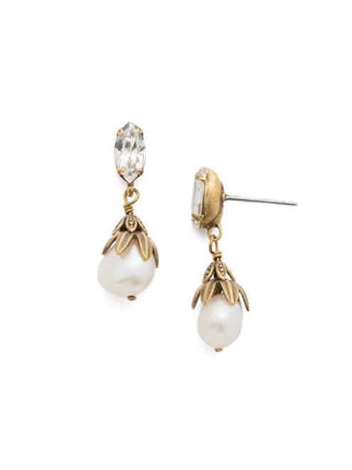 Sorrelli Crystal - Jovi Dangle Earrings ~ 4EEF5AGCRY