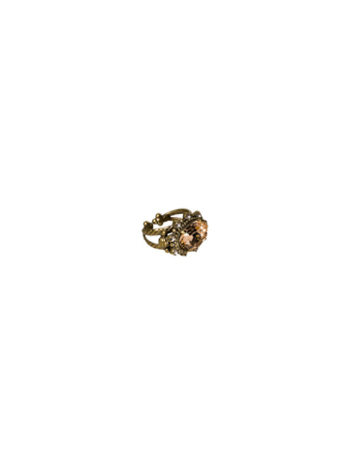 Sorrelli Andalusia-Crystal Eclipse Ring~ RCK14AGAND