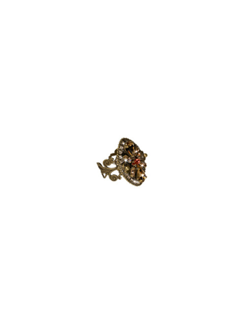 Sorrelli Andalusia- Crystal Armor Cocktail Ring~ RCC9AGAND