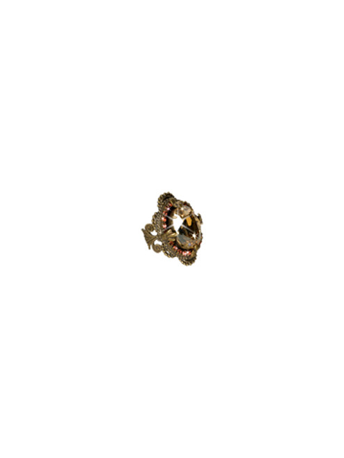 Sorrelli Andalusia- Vintage Inspired Crystal Cocktail Ring~ RCB7AGAND