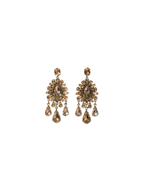 Sorrelli Andalusia- Dripping in Crystals Chandelier Earrings~ ECK20AGAND