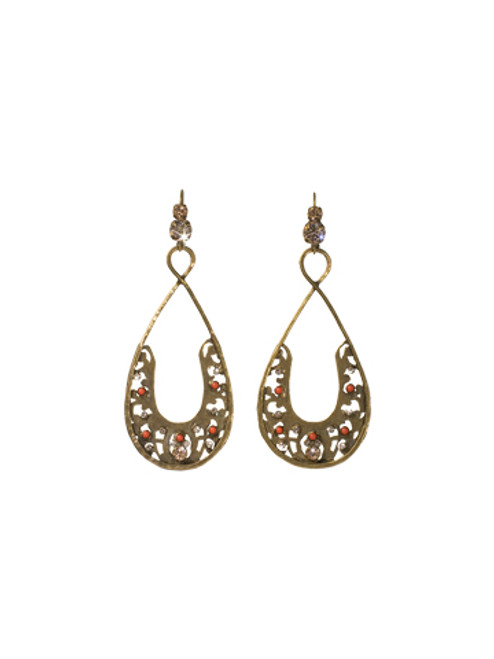Sorrelli Andalusia- Lucky You Earrings~ ECL45AGAND