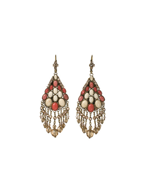 Sorrelli Andalusia- Fancy Fringe Earrings~ ECL31AGAND