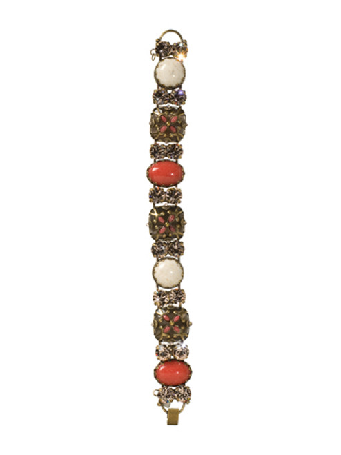 Sorrelli Andalusia- Regal Cabochon Bracelet~ BCC10AGAND