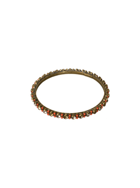Sorrelli Andalusia- Stone-Studded Bangle Bracelet~ BCL2AGAND
