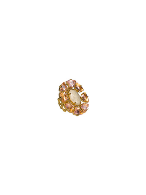 Sorrelli Andalusia- Octagonal Cocktail Ring~ RCL36BGAND