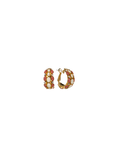 Sorrelli Andalusia- Greatly Global Hoop Earrings~ ECL14BGAND