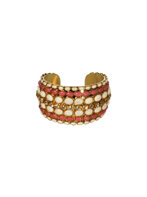 Sorrelli Andalusia- Retro Disk Cuff Bracelet~ BCL9BGAND