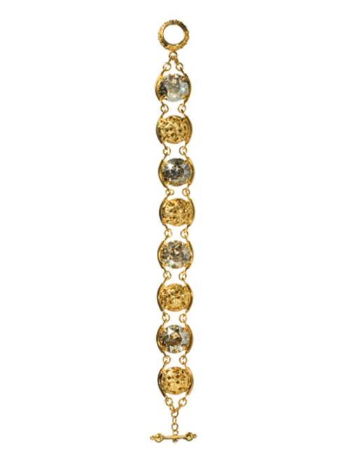 Sorrelli Andalusia- Ornate Dome Crystal Bracelet~ BCL27BGAND
